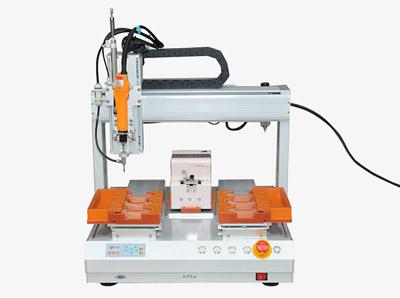4331四轴双Y平台自动上螺丝机
