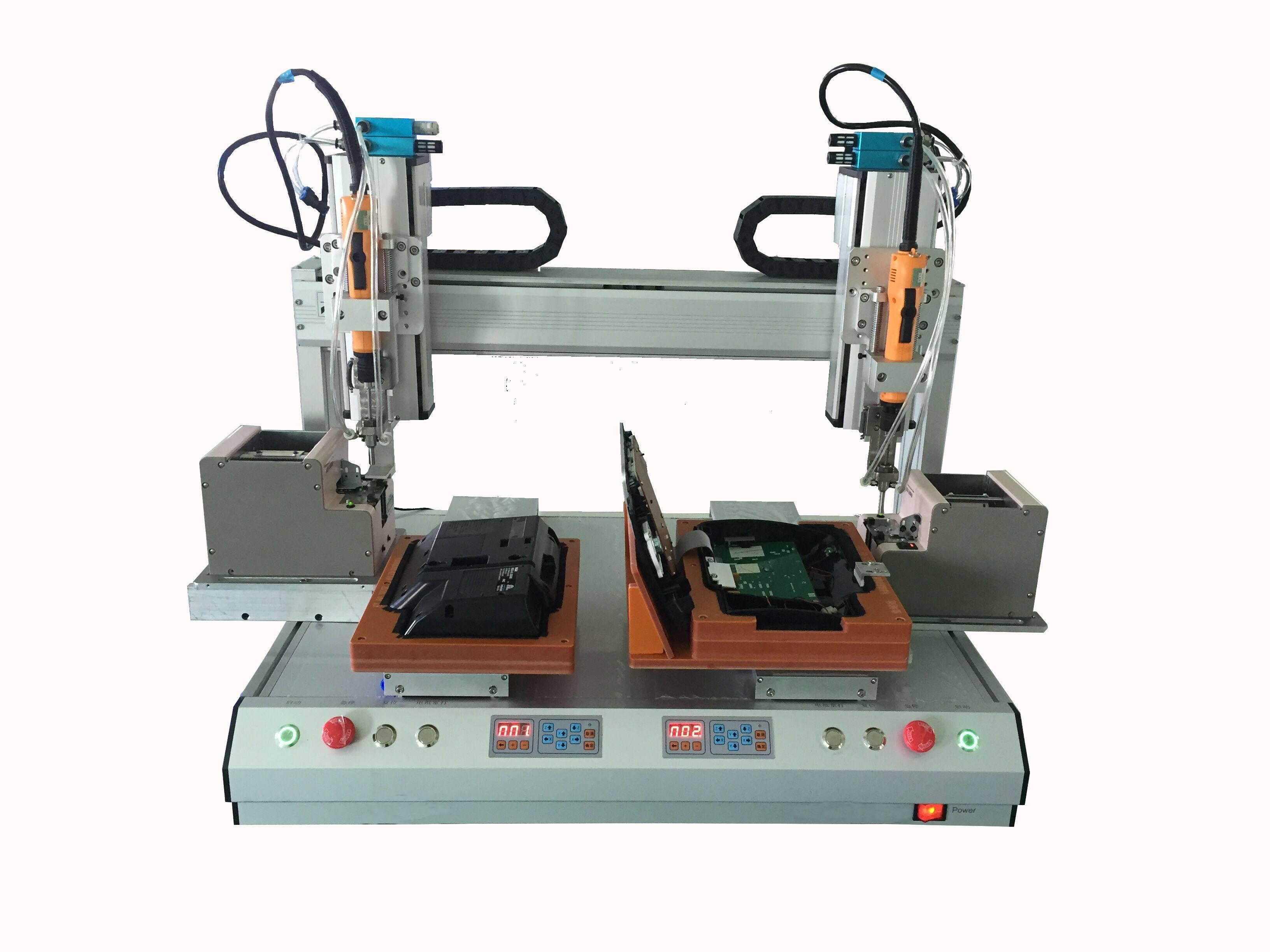 双Y双Z五轴平台锁螺丝机