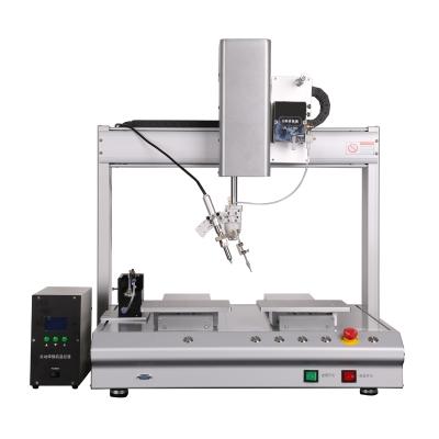 6331桌面式多轴运动焊锡机