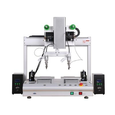双轴双平台自动焊锡机